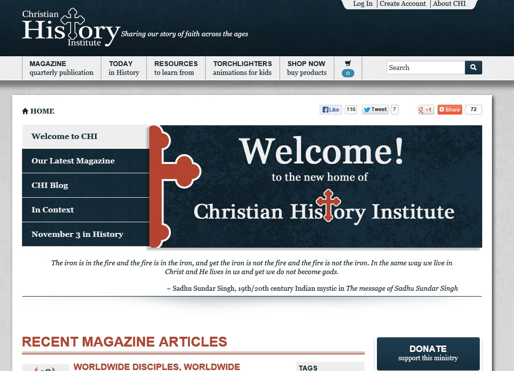 Christian History Institute